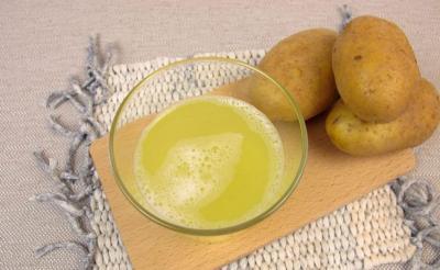 فوائد عصير البطاطس للبشرة و الجروح